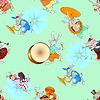 Kaninchen Orchester