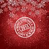 Векторный клипарт: Новый year2015.00