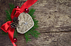 Christmas decoration with heart | Stock Foto