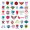 größte Sammlung von Logos Schutz und