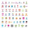größte Sammlung von Logos Menschen