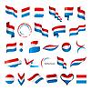 größte Sammlung von Flaggen der Niederlande