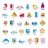 größte Sammlung von Logos Gebäude für Freizeit