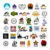 größte Sammlung von Logos Hotels für Freizeit