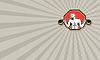 ID 4117271 | Strongman Lifting Kettlebell Front Retro | Stockowa ilustracja wysokiej rozdzielczości | KLIPARTO