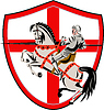 Englisch Knight Rider Reit England-Flaggen-Retro