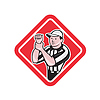 Football-Schiedsrichter Illegale Nutzung Hände