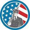 Soldat Militär-Soldat, Gewehr-Kreis