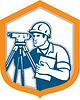 Surveyor Geodätische Vermessungsingenieur Theodolit