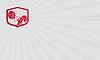 ID 4403799 | Visitenkarten-Lifting Gewichtheber Langhantel-Schild | Illustration mit hoher Auflösung | CLIPARTO