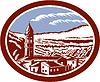 Векторный клипарт: Церковь Колокольня башня Тоскана Италия Woodcut