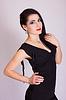 Piękna szczupła młoda kobieta | Stock Foto