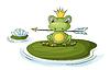 Царевна-лягушка | Векторный клипарт