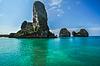 ID 4128740 | Phra Nang Beach, Thailand, Krabi Province, Panorami | Foto stockowe wysokiej rozdzielczości | KLIPARTO