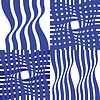 Cztery proste abstrakcyjne wzory | Stock Vector Graphics