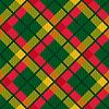 Karierte Diagonale Tartan Stoff nahtlose Textur