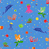Lustige Unterwasserwelt