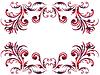 Florale Elemente mit keltischen Ornament