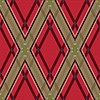 Rhombic Tartan rot-grünen Stoff nahtlose Textur