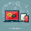 Icons für Web-Design, SEO, Social Media