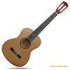 Gitara akustyczna | Stock Vector Graphics