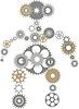 Robot biegów | Stock Vector Graphics