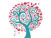 Drzewo miłości | Stock Vector Graphics