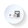 Chassis für Desktop-Computer Flach Symbol
