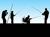 Gruppe von Fischern