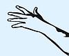 ID 4168639 | Hand greift nach vorne | Stock Vektorgrafik | CLIPARTO