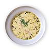 Zupa serowa z kiełbasą | Stock Foto