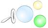 Векторный клипарт: мыльные пузыри