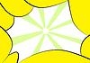 Streszczenie żółte ramki | Stock Illustration