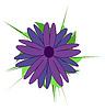 Streszczenie kwiat | Stock Vector Graphics