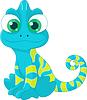 ID 4120243 | Kameleon | Klipart wektorowy | KLIPARTO