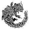 Twisted Dragon Tattoo