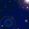 Raum Hintergrund withbright Sterne im Kosmos