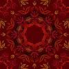 Abstrakt dunklen roten Blumen Hintergrund mit runden