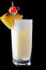 ID 4151797 | Hohes Glas Pina Colada-Cocktail | Foto mit hoher Auflösung | CLIPARTO