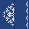Eleganckie tło z ornamentem koronki | Stock Vector Graphics