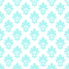 ID 4436759 | Damast nahtlose mit Blumenelementen | Stock Vektorgrafik | CLIPARTO