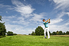 Golf player | Stock Foto