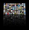 TV 패널 | Stock Foto