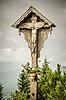 ID 4255899 | Jezus krzyż Herzogstand | Foto stockowe wysokiej rozdzielczości | KLIPARTO