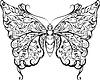 ID 4307286 | Schwarzer Spitze Schmetterling | Foto mit hoher Auflösung | CLIPARTO