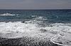 Strand von Albo mit schwarzem Kiesstrand, Cap Corse, Korsika | Stock Foto