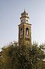 Kirche S. Nicolo in Lazise am Gardasee, Venetien, Italien | Stock Foto