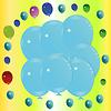 Balon w tle | Stock Vector Graphics