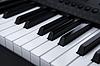 Klawisze fortepianu | Stock Foto