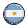 Flaggen-Symbol-Web-Schaltfläche argentinien